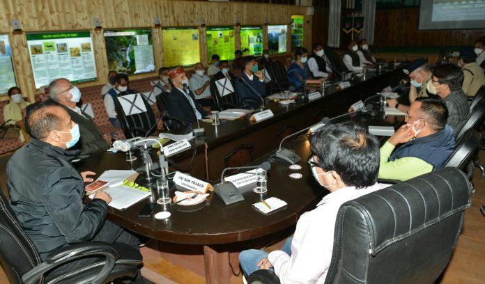 मुख्यमंत्री ने अटल टनल रोहतांग के लोकार्पण समारोह की तैयारियों की समीक्षा की