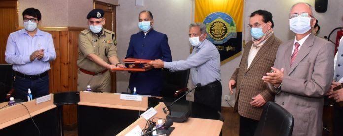पारस्परिक विचार विमर्श के लिए राज्य पुलिस व आईआईटी मण्डी में एमओयू हस्ताक्षरित