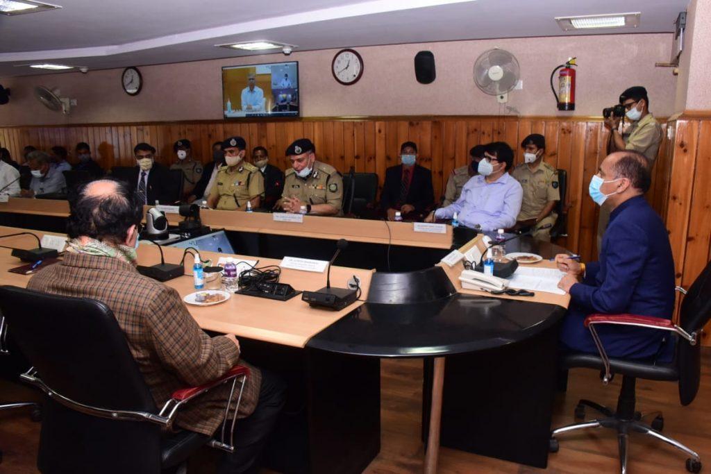मुख्यमंत्री ने राज्य पुलिस मुख्यालय में सीसीटीवी निगरानी मैट्रिक्स एवं कमान केन्द्र का शुभारम्भ किया