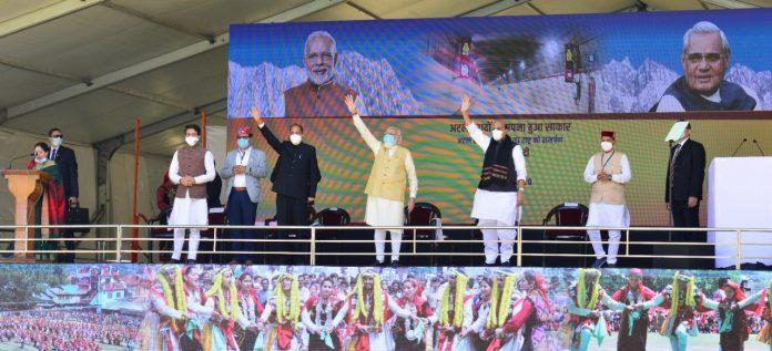 अटल टनल से प्रदेश को मिली नई पहचानः जय राम ठाकुर