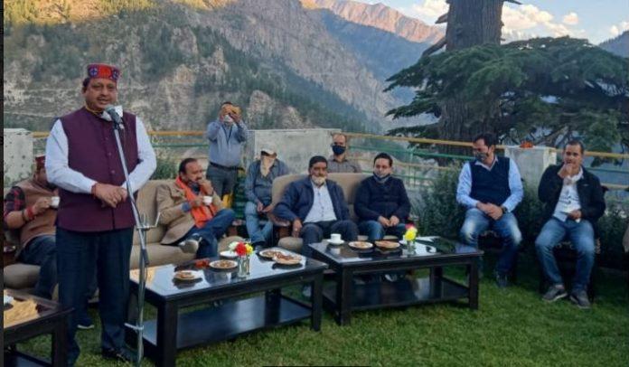जनजातीय पांगी और लाहौल क्षेत्रों में जैविक खेती को दिया जाएगा और बढ़ावा- वीरेंद्र कंवर