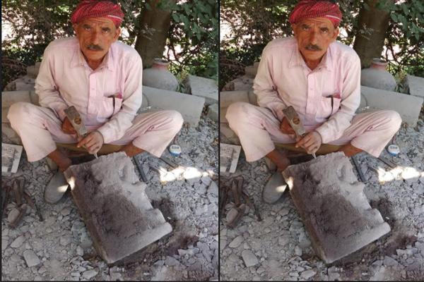 पत्थर की मूर्तियों में जान डाल देते हैं नराता राम