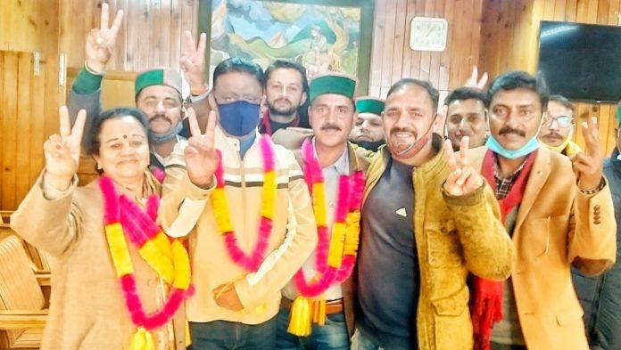 राजधानी शिमला जिला में कांग्रेस का परचम लहराया, भाजपा को झटका
