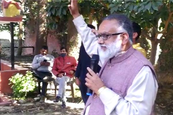 डॉ.राजन सुशांत ने फतेहपुर उपचुनाव के लिए भरी हुंकार,जीत के लिए माँगा आशीर्वाद