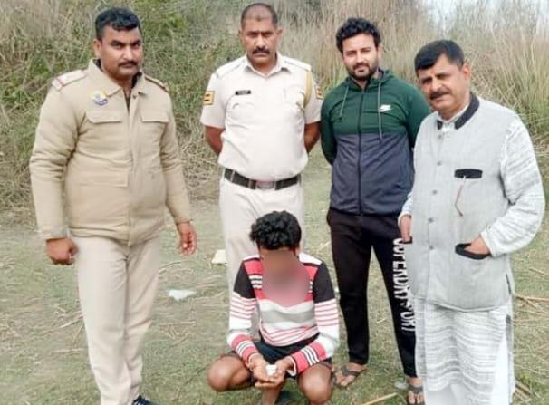 इंदौरा: 10.32 ग्राम हैरोइन सहित एक युवक गिरफ्तार