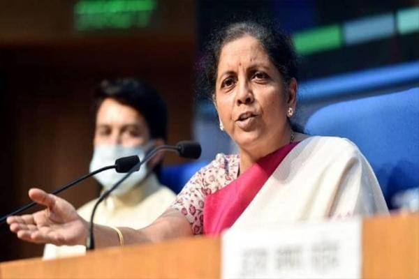 केन्द्रीय वित्त मंत्री निर्मला सीतारामन