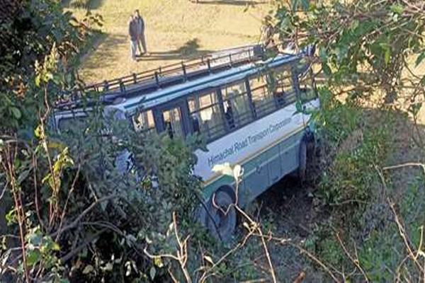 कांगड़ा के 35 मील के पास HRTC बस दुर्घटनाग्रस्त, 27 लोग थे सवार