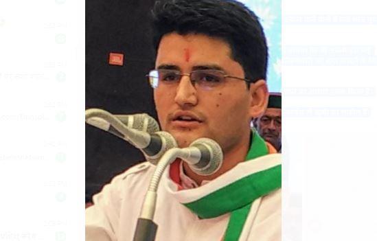 राहुल चौहान को जिला शिमला ग्रामीण का प्रभारी
