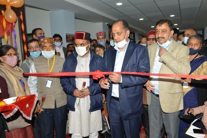 मुख्यमंत्री ने इंटिग्रेटिड मस्कुलर डिस्ट्राॅफी रिहेबिलिटेशन सेंटर के निजी वार्ड का किया लोकार्पण