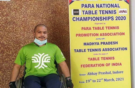 फासले पैरों से नहीं, हौसलों से नापते हैं पीयूष, राष्ट्रीय पैरा टेबल टेनिस में जीताकांस्य पदक