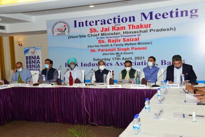कोविड के खिलाफ लड़ाई में सरकार के प्रयासों को भरपूर सहयोग दें उद्योगपतिः मुख्यमंत्री