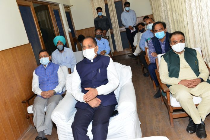 CM stresses on regular monitoring of health parameters of home isolation patients