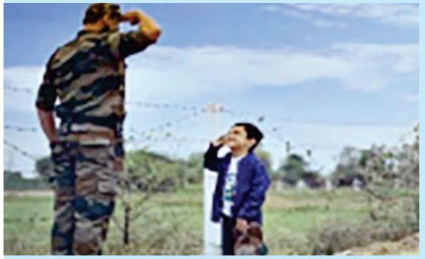 सरहदें ही नहीं, शहीदों के परिजनों की सुध लेने को आगे आया बीएसएफ