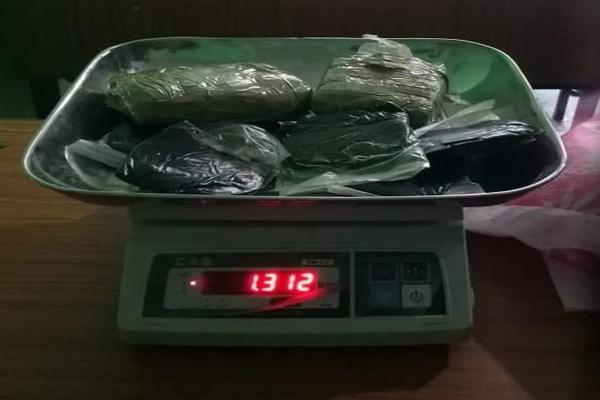 कुल्लू 1 किलो 312 ग्राम चरस के साथ महिला गिरफ्तार