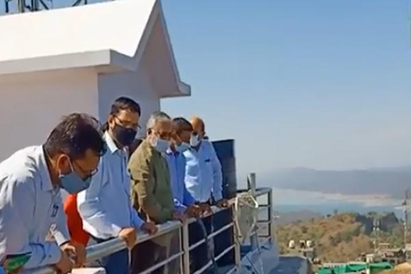 ग्लास ब्रिज रोमांच से भरपूर होगा श्री नैना देवीं मंदिर