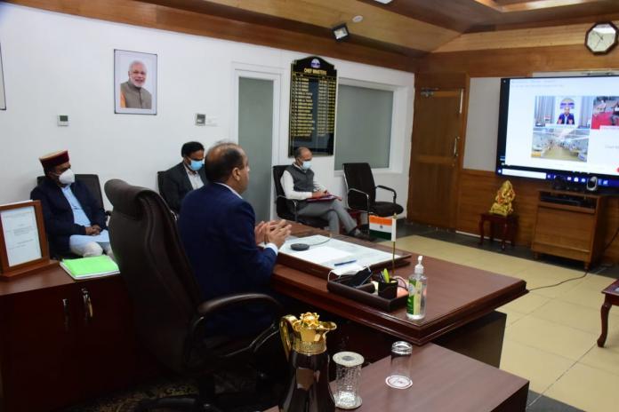 मुख्यमंत्री ने कोविड-19 रोगियों के लिए मेकशिफ्ट अस्पताल परौर का किया लोकार्पण