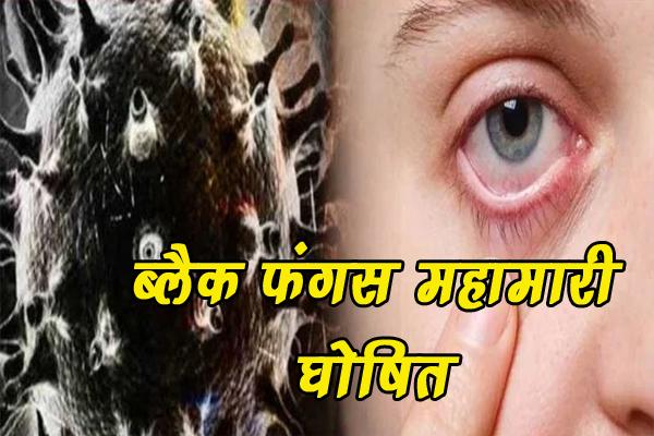 हिमाचल में अब ब्लैक फंगस महामारी घोषित