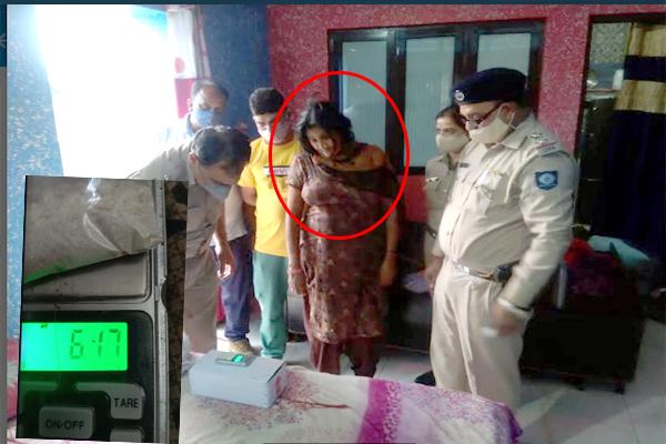 डमटाल पुलिस ने महिला से पकड़ा 6.17 ग्राम चिट्टा