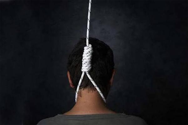 फांसी लगा कर आत्महत्या